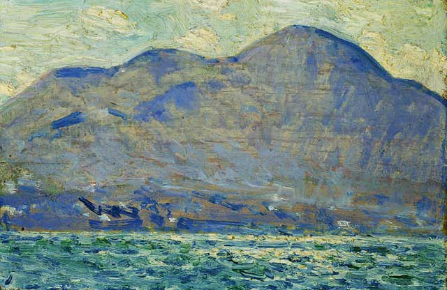 Mt. Beacon at Newburgh, 1916 - Childe Hassam