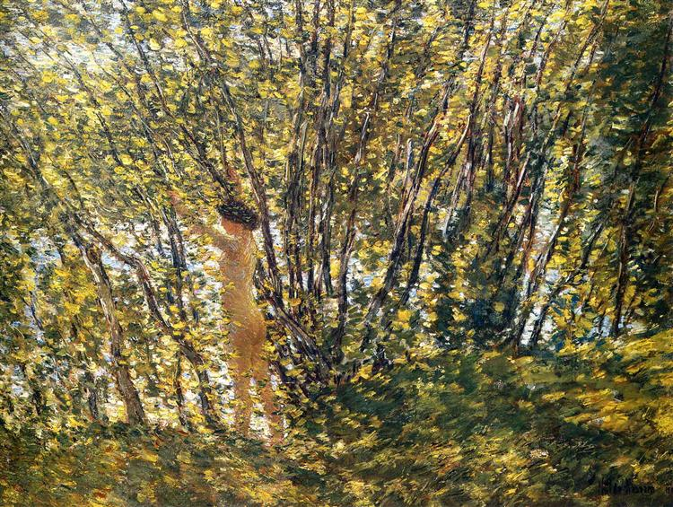 Nude in Sunlilt Wood, 1905 - Childe Hassam