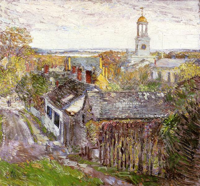 Quincy, Massachusetts, 1892 - Childe Hassam