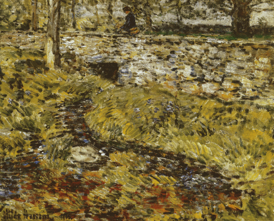 Stone Bridge - Childe Hassam