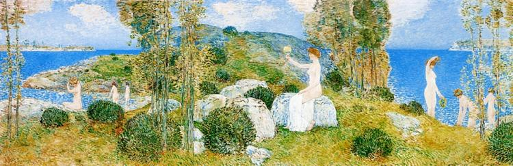 The Bathers, 1904 - Childe Hassam