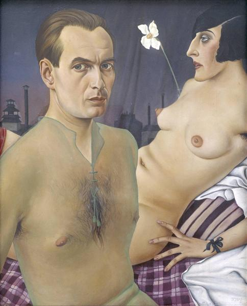 Self-Portrait, 1927 - Christian Schad