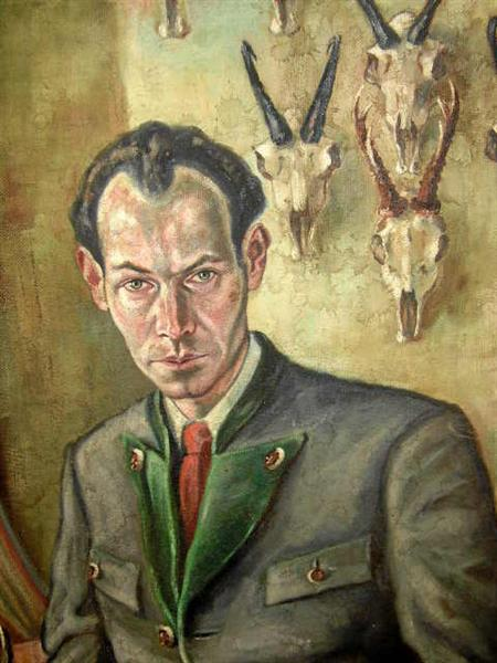 Self-Portrait, 1930 - Christian Schad