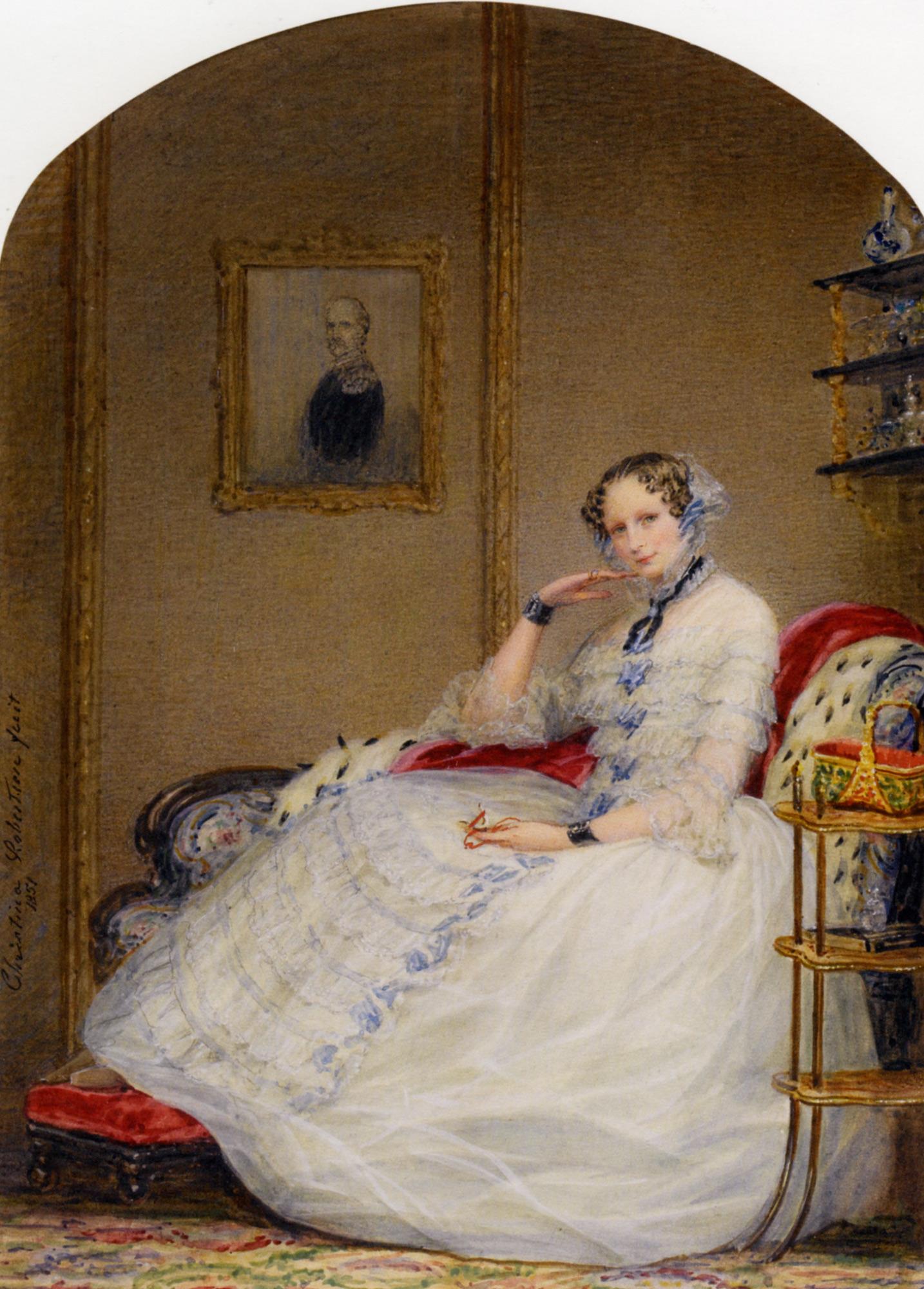 Empress Alexandria Fedorovna, 1851