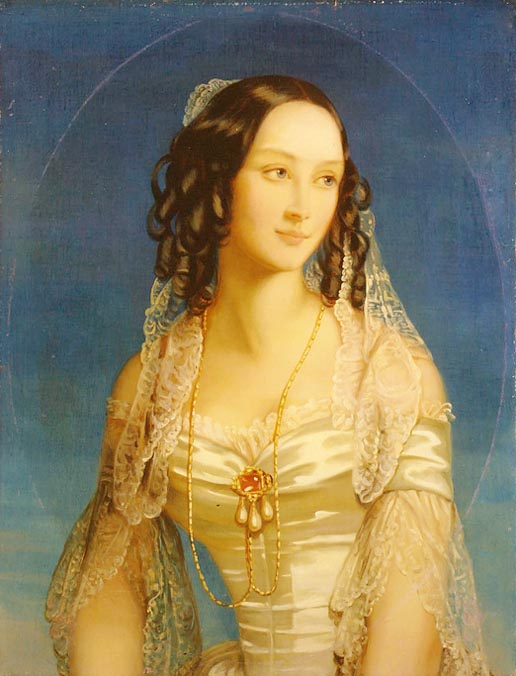 Portrait of Grand Duchess Zinaida Yusupova, 1845