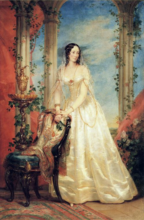 Portrait of Princess Zinaida Yusupova, 1840