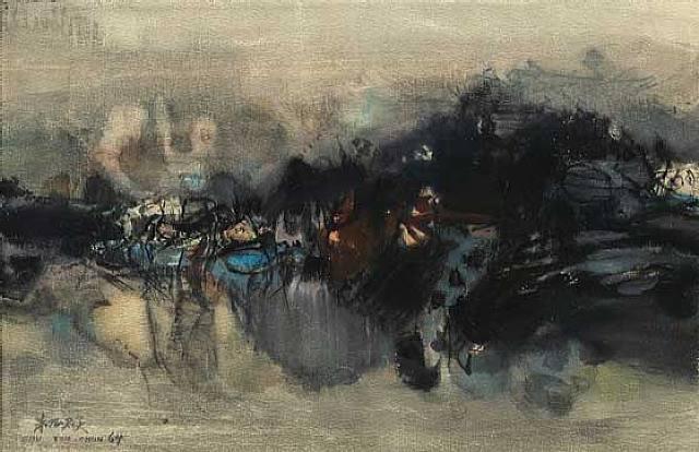 Untitled, 1964 - Chu Teh-Chun