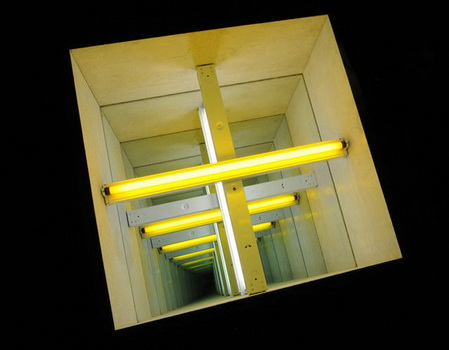 Tunnel #5 (After Dan Flavin) - Chul Hyun Ahn