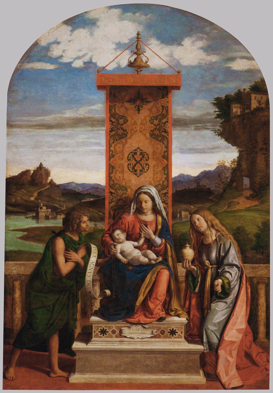 Madonna and Child with St. John the Baptist and Mary Magdalene, 1512