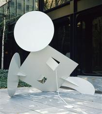 Geometric Mouse, Scale A - Клас Ольденбург