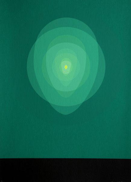 Green Mandala, 1969 - Clarence Holbrook Carter