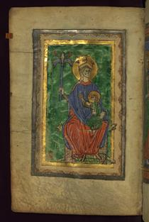 Virgin and Child enthroned - Claricia