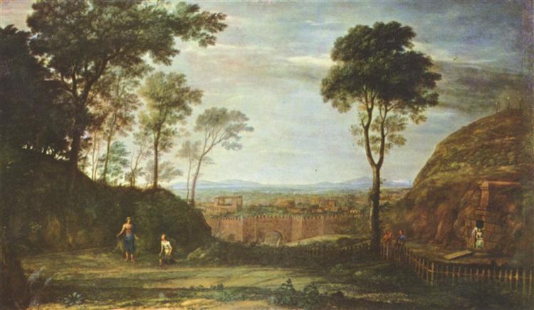 Easter Morning, 1681 - Claude Lorrain