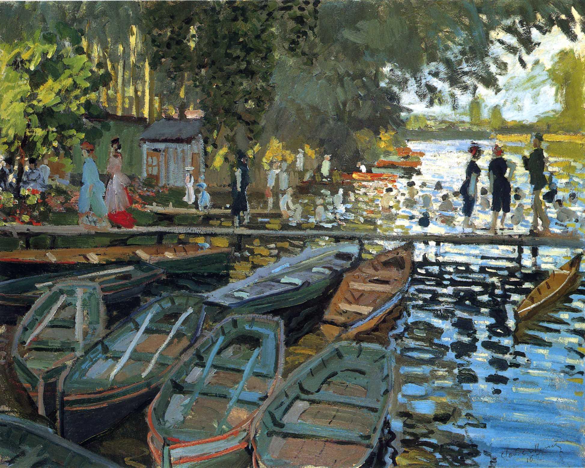 http://www.nationalgallery.org.uk/paintings/claude-monet-bathers-at-la-grenouillere