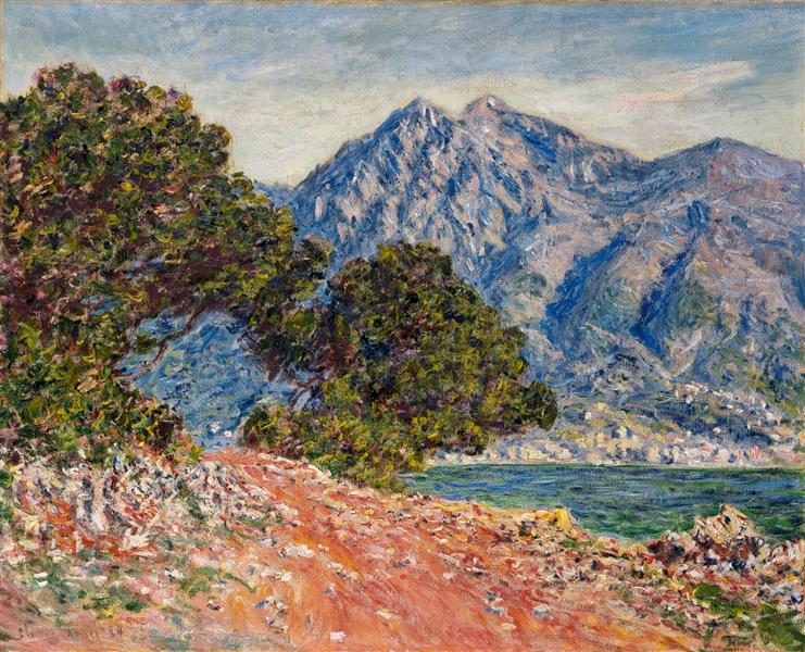 Cap Martin 2, 1884 - Claude Monet