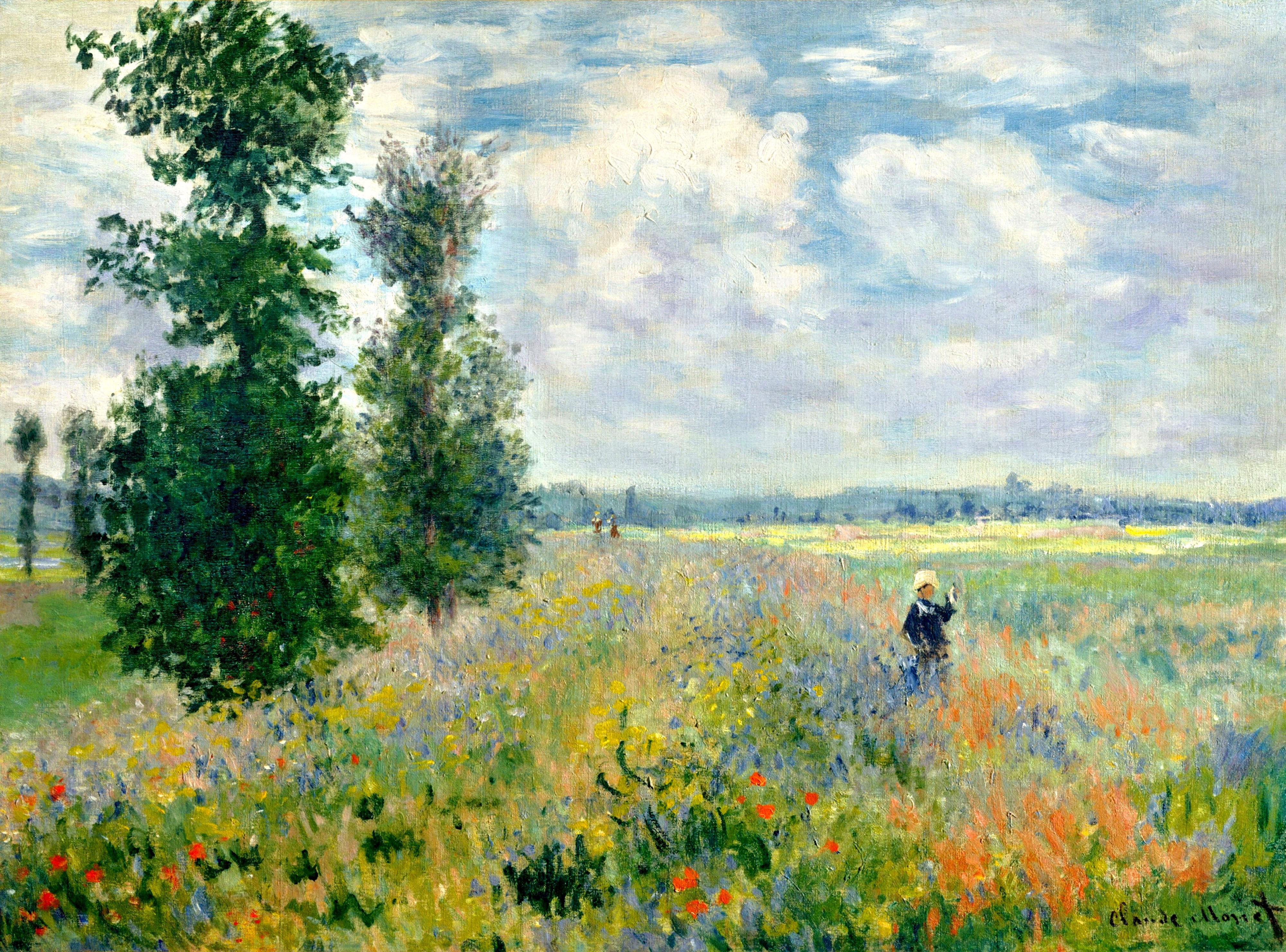Claude Monet克劳德·莫奈 - 水木白艺术坊 - 贵阳画室 高考美术培训