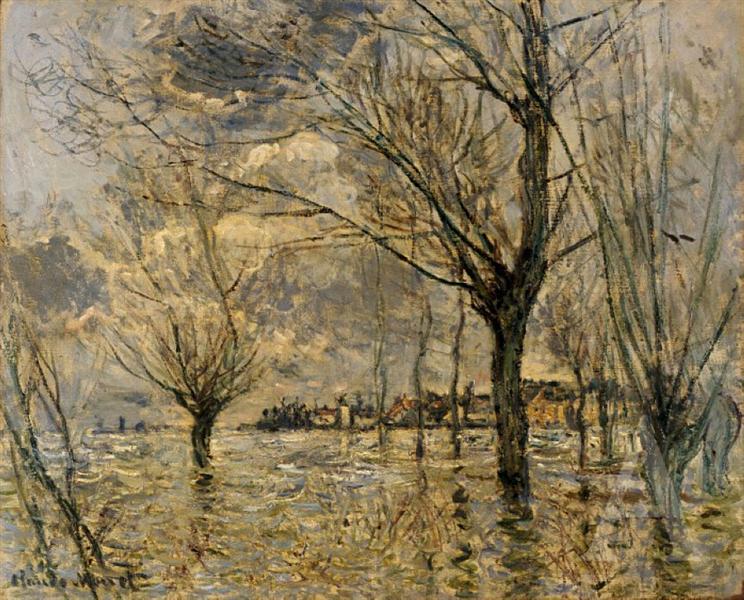 Vetheuil, L'Inondation, 1881 - Claude Monet