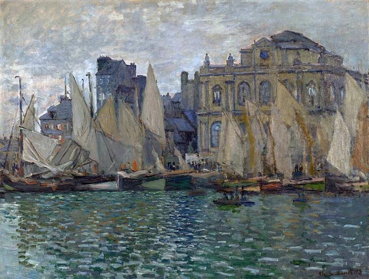 View of Le Havre, 1873 - Claude Monet