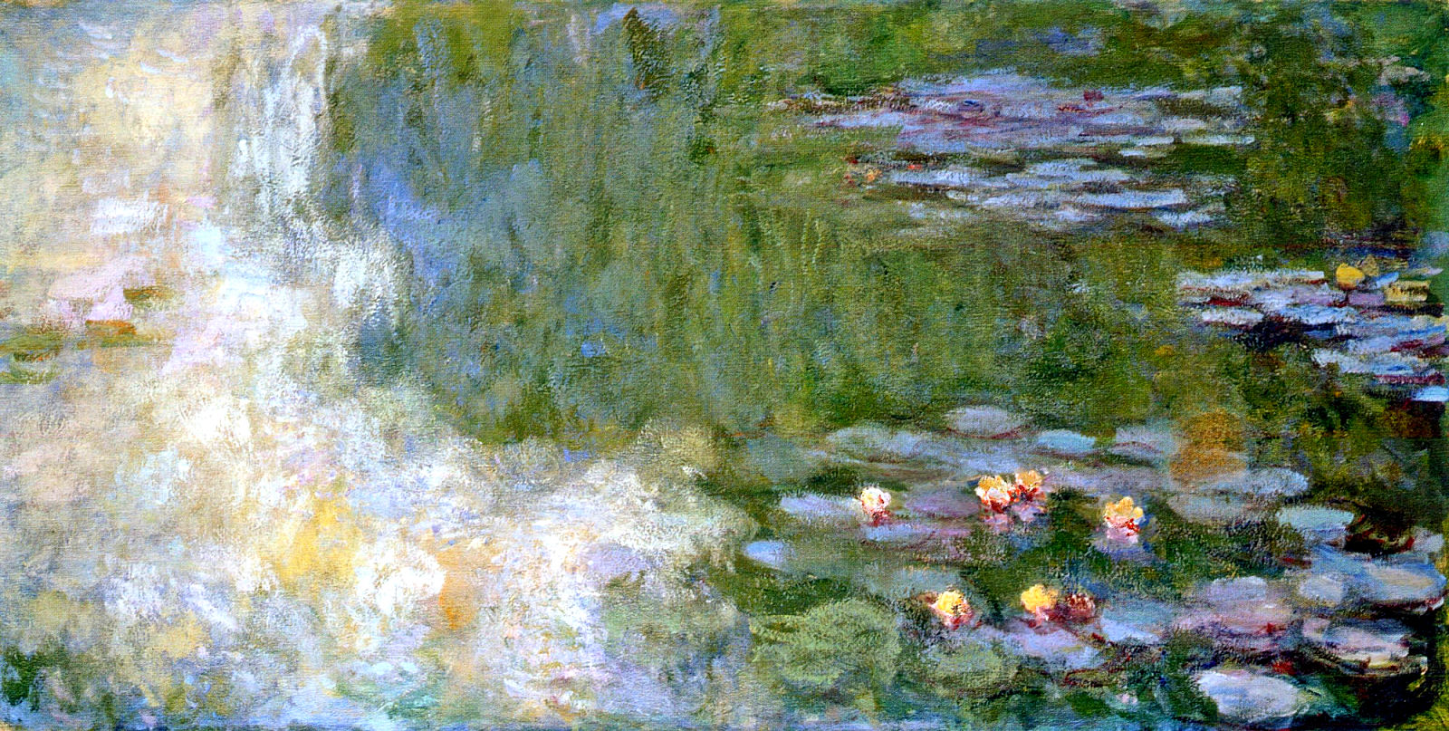 Water Lily Pond, 1917 - 1919 - Claude Monet - WikiArt.org