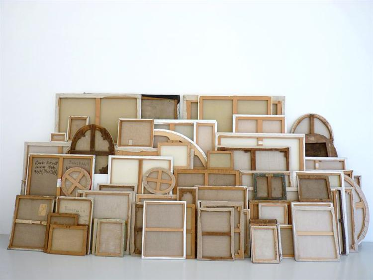 Installation View - Claude Rutault