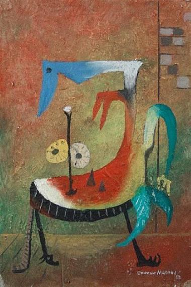Reclining Figure, 1962 - Conroy Maddox