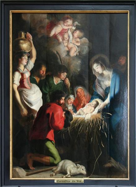 The Birth of Jesus, 1618 - Cornelis de Vos