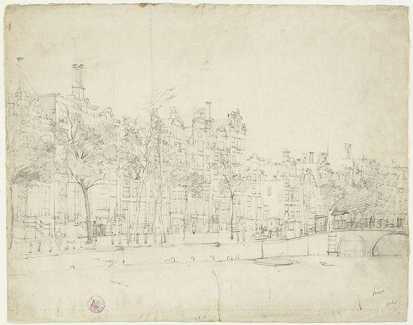 Amstedam, c.1850 - Cornelis Springer
