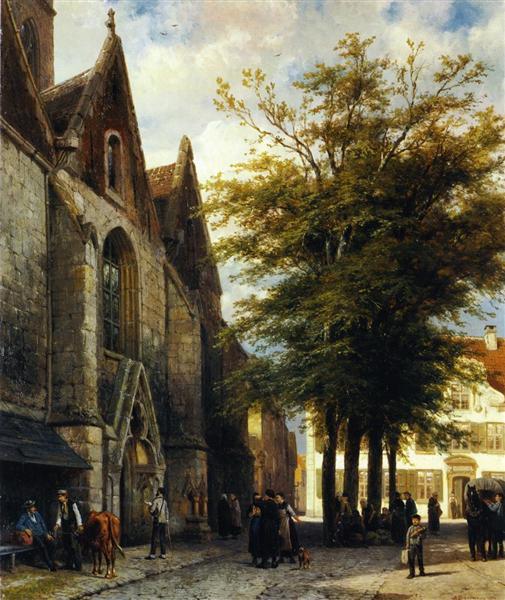 St. Joseph's Church in Hamelen, 1877 - Cornelis Springer