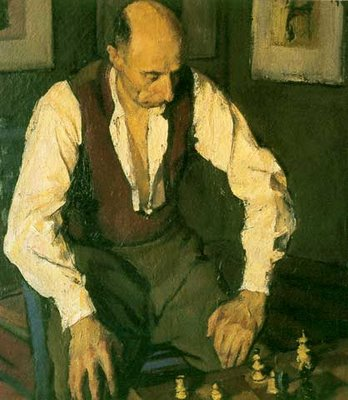 The Chess Player, 1948 - Corneliu Baba