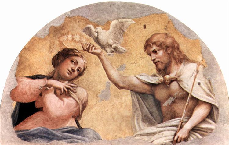 Coronation Scene, 1520 - 1521 - Correggio