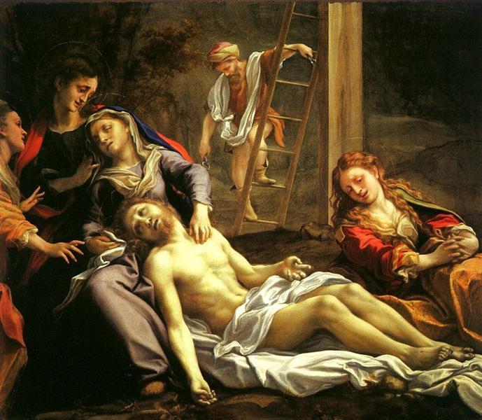 Deposition, 1525 - Correggio