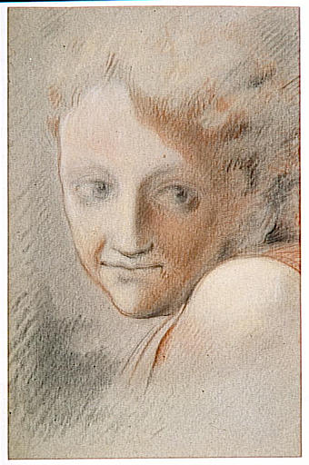 Head of an Angel - Correggio