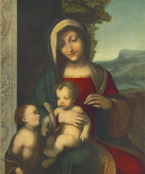 Madonna, 1512 - 1514 - Correggio