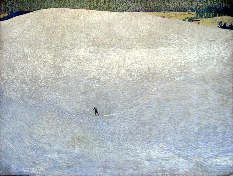 Snowy Landscape (Deep Winter), 1904 - Cuno Amiet