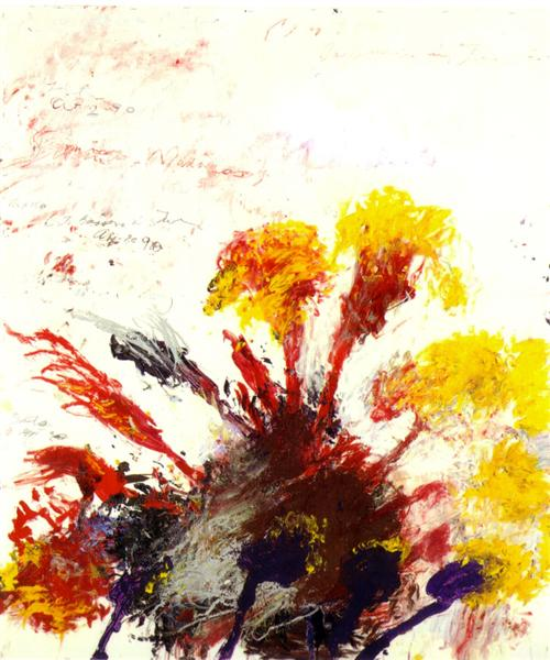 Summer Madness - Cy Twombly