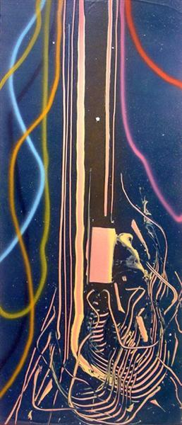Street Dancer, 1986 - Дэн Кристенсен
