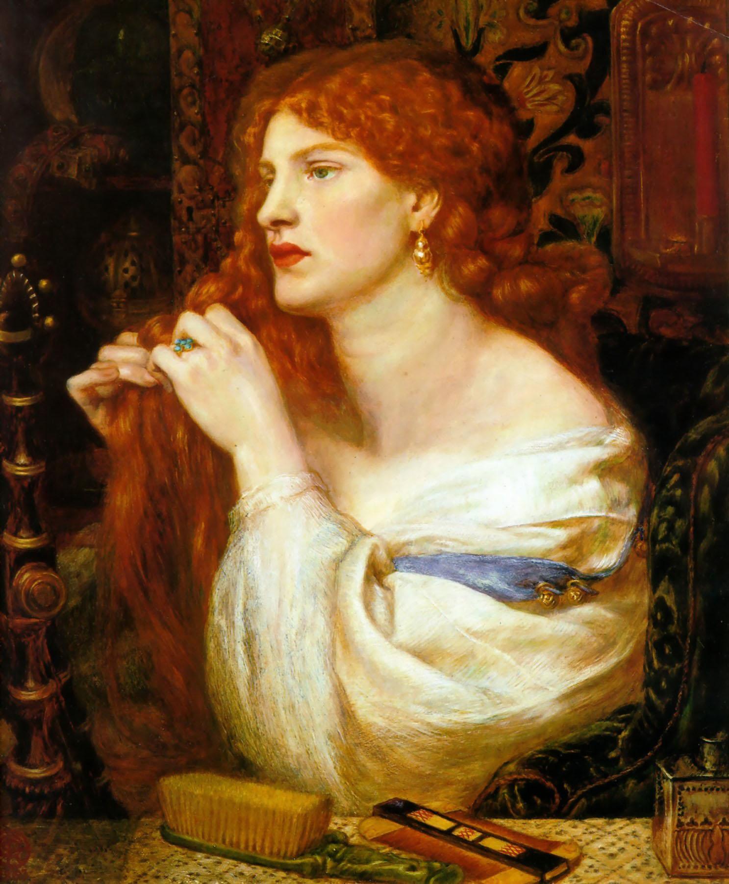 Aurelia 1879 Dante Gabriel Rossetti Wikiart Org