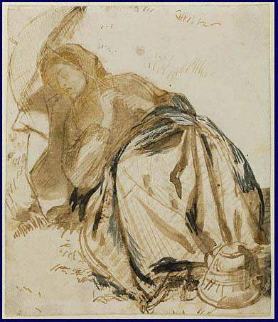 Elizabeth Siddal, 1852-1855