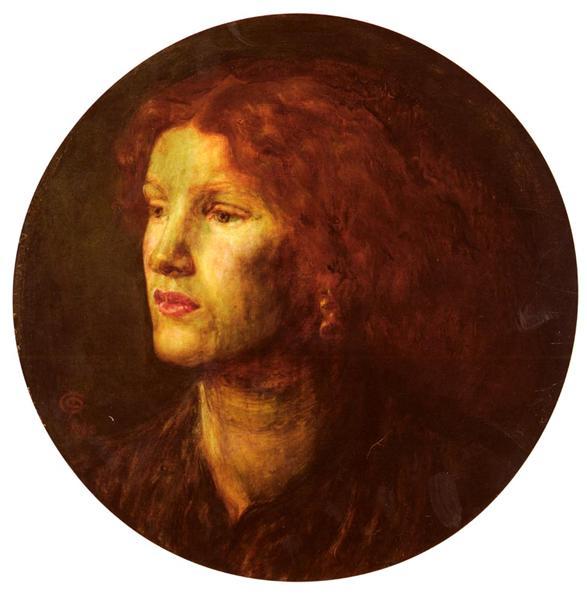Fanny Cornforth, 1862 - Dante Gabriel Rossetti