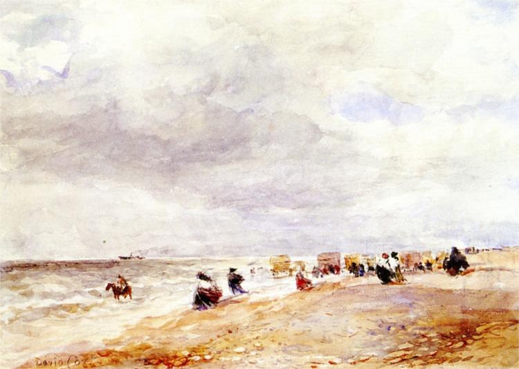 Rhyl Sands, 1854 - David Cox