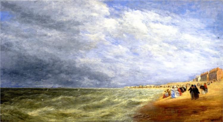 Rhyl Sands, 1855 - David Cox