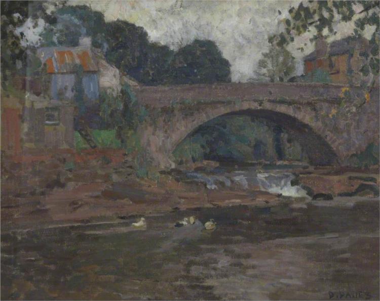 Senny Bridge - David Davies