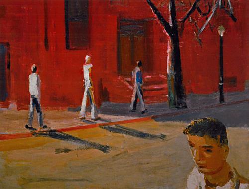 Boston Street Scene, 1954 - David Park