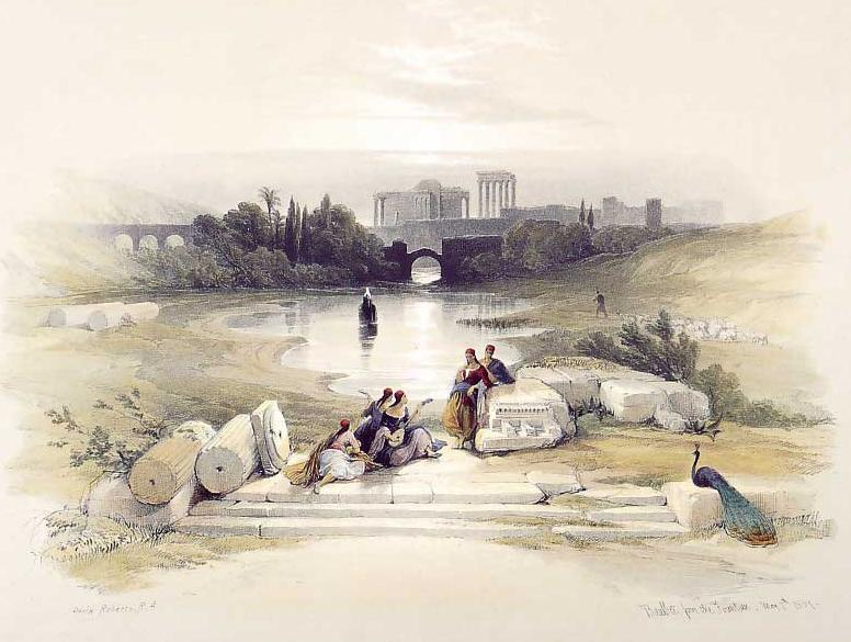 Baalbec, from the Fountain, 1847