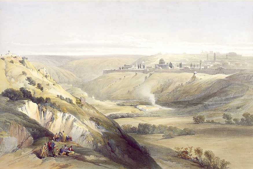 Jerusalem from the Mount of Olives, 1847