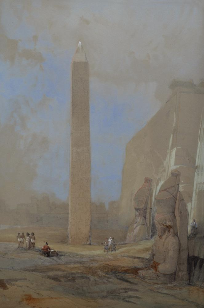 Obelisk at Luxor, 1838