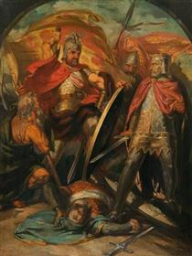 Sir William Wallace (triptych, centre panel) - Девід Ск�тт