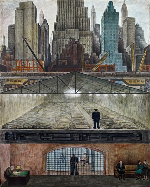 Frozen Assets, 1931 - Diego Rivera