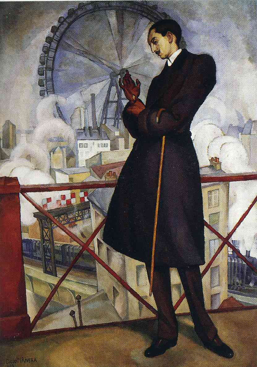 Portrait of the Adolfo Best Maugard, 1913