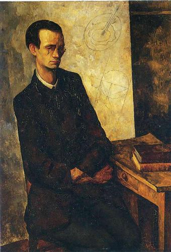 The Mathematician - Diego Rivera